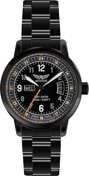 Мужские часы Aviator V.1.17.5.106.5 браслет стальной к часам маурицио