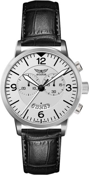 Мужские швейцарские наручные часы Aviator V.2.13.0.075.4 с хронографом