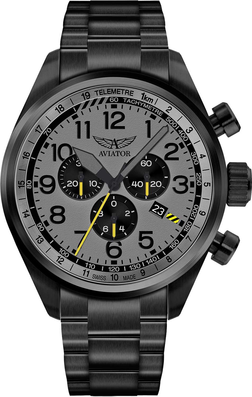 Швейцарские мужские часы в коллекции Airacobra Мужские часы Aviator V.2.25.5.174.5 фото
