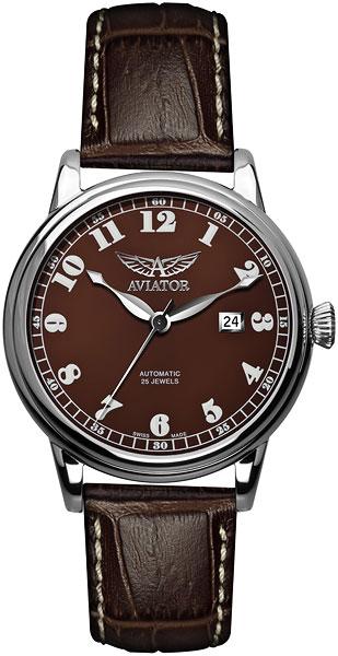 Мужские часы Aviator V.3.09.0.026.4 портмоне boss hugo boss boss hugo boss bo010bmyva20