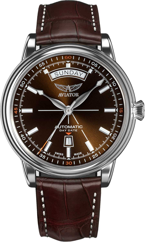 Мужские часы Aviator V.3.20.0.140.4 мужские часы aviator v 3 21 0 139 5