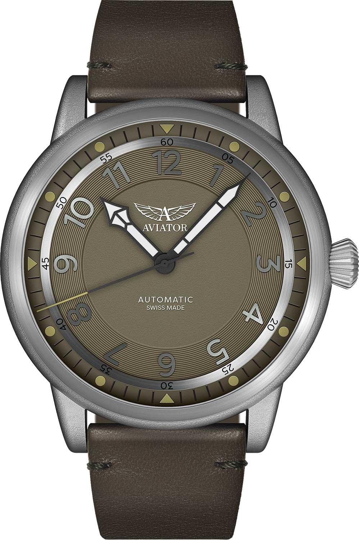 Швейцарские мужские часы в коллекции Vintage Douglas Dakota Мужские часы Aviator V.3.31.0.227.4 фото