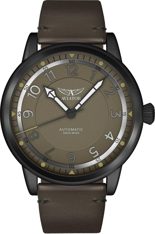Швейцарские мужские часы в коллекции Vintage Douglas Dakota Мужские часы Aviator V.3.31.5.227.4 фото
