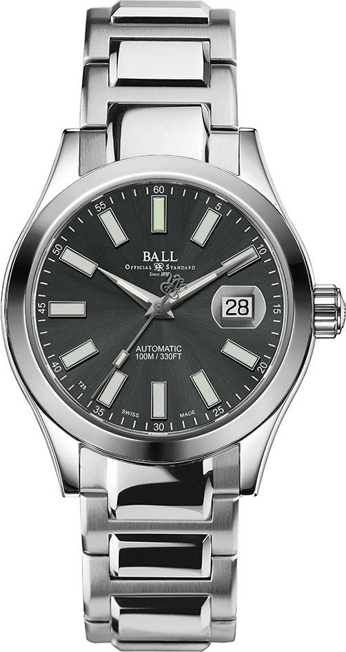 Купить Наручные часы NM2026C-S6-GY  Мужские наручные швейцарские часы в коллекции Engineer II BALL
