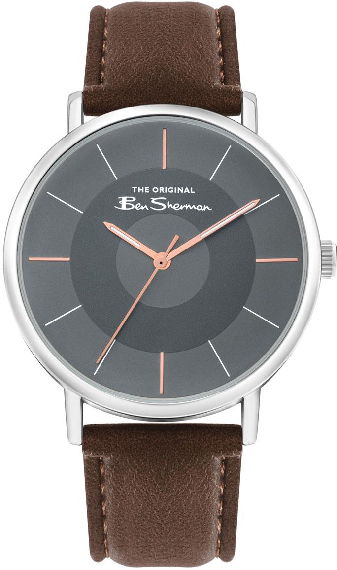 Мужские часы Ben Sherman BS026BR часы ben sherman ben sherman be376dmfact1