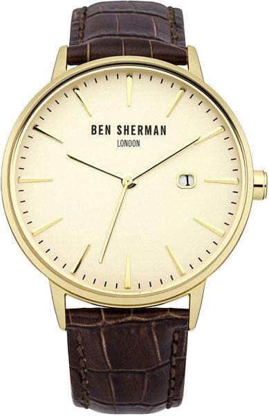 Мужские часы Ben Sherman WB001BR mato sherman t49 metal track for 1 16 1 16 rc mato m4a1 sherman heng long 3898 1 m4a3 sherman tank metal upgrade parts