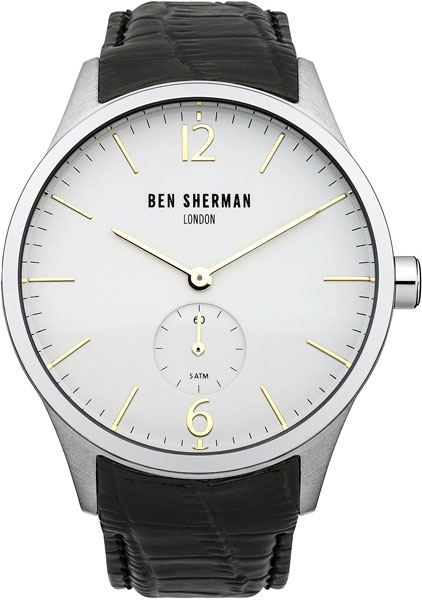 Мужские часы Ben Sherman WB003CR mato sherman t49 metal track for 1 16 1 16 rc mato m4a1 sherman heng long 3898 1 m4a3 sherman tank metal upgrade parts