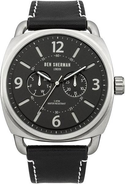 Мужские часы Ben Sherman WB006B аксессуар чехол 13 0 inch thule gauntlet 3 0 для macbook pro retina black tgse2253k