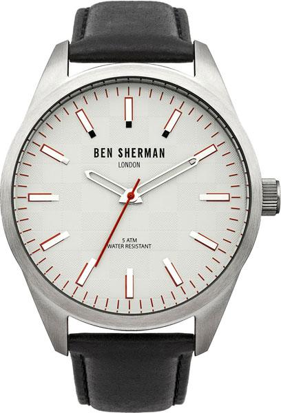 Мужские часы Ben Sherman WB007S ben sherman кардиган ben sherman ben sherman me00195 2buy серый m