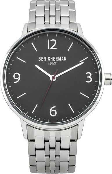 Мужские часы Ben Sherman WB023BM hand around черный стальной браслет
