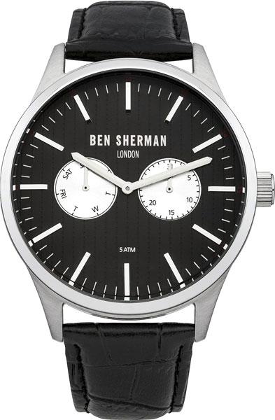 Мужские часы Ben Sherman WB024B mato sherman t49 metal track for 1 16 1 16 rc mato m4a1 sherman heng long 3898 1 m4a3 sherman tank metal upgrade parts