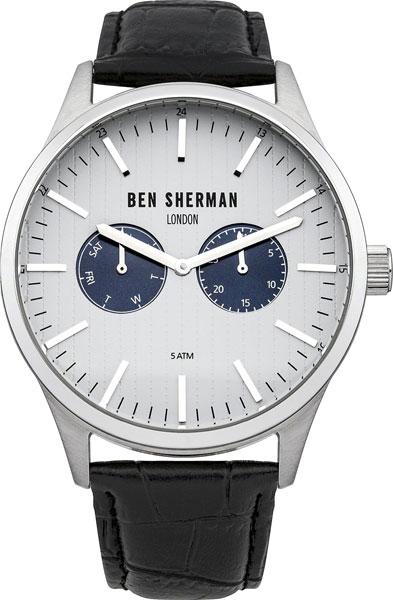 Мужские часы Ben Sherman WB024S ben sherman кардиган ben sherman ben sherman me00195 2buy серый m