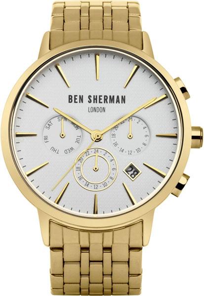 Мужские часы Ben Sherman WB028GM mato sherman t49 metal track for 1 16 1 16 rc mato m4a1 sherman heng long 3898 1 m4a3 sherman tank metal upgrade parts
