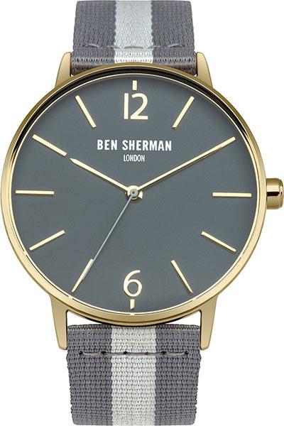 Мужские часы Ben Sherman WB044EGA ben sherman кардиган ben sherman ben sherman me00195 2buy серый m