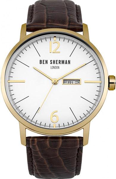 цена Мужские часы Ben Sherman WB046TG онлайн в 2017 году