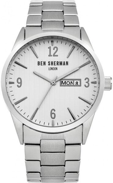 Мужские часы Ben Sherman WB053SM ben sherman кардиган ben sherman ben sherman me00195 2buy серый m