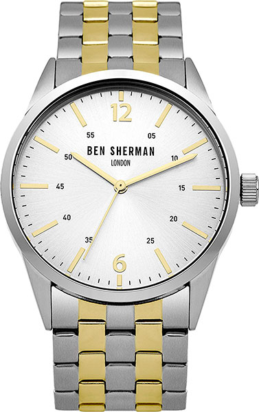 Мужские часы Ben Sherman WB060GSMA ben sherman часы ben sherman wb060gsma коллекция social