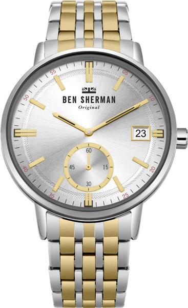 Купить Мужские Часы Ben Sherman Wb071Gsm