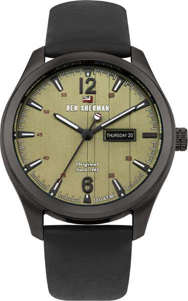 цена Мужские часы Ben Sherman WBS105BB онлайн в 2017 году