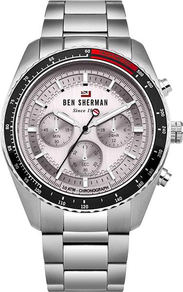 цена Мужские часы Ben Sherman WBS108SM онлайн в 2017 году
