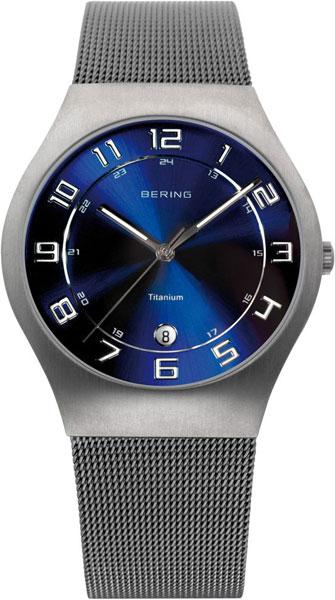 Мужские часы Bering ber-11937-078 bering часы bering 11937 227 коллекция titanium