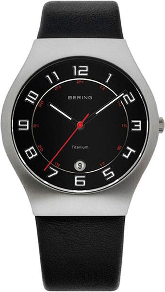 цена  Мужские часы Bering ber-11937-402  онлайн в 2017 году