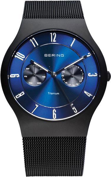 Мужские часы Bering ber-11939-078 bering titanium 11939 078