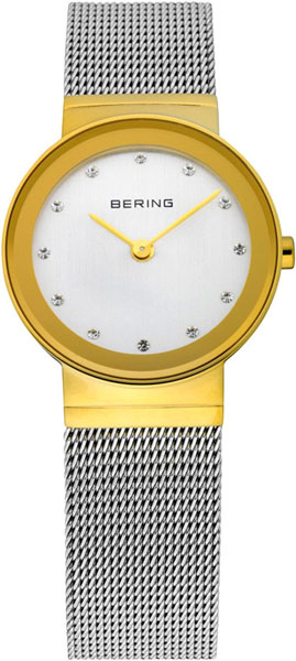 цена Женские часы Bering ber-10126-001 онлайн в 2017 году