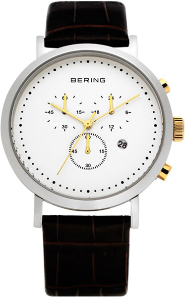 цена  Мужские часы Bering ber-10540-534  онлайн в 2017 году