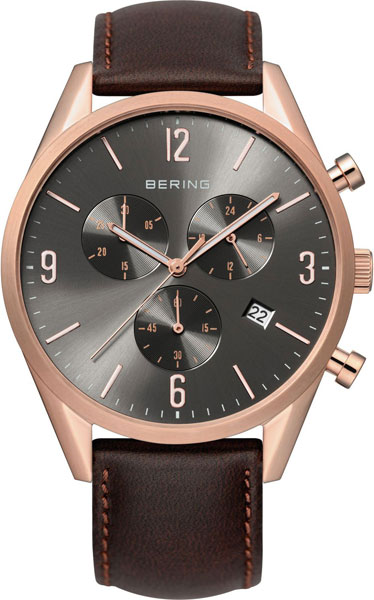 цена  Мужские часы Bering ber-10542-562  онлайн в 2017 году