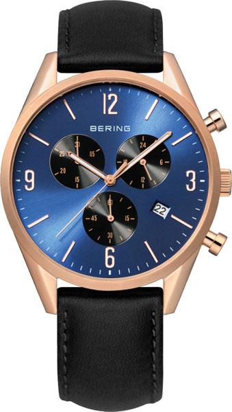 цена  Мужские часы Bering ber-10542-567  онлайн в 2017 году