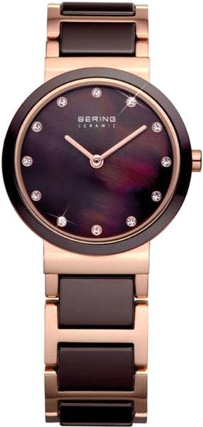 Женские часы Bering ber-10725-765 red fox запасные стяжки для рюкзака light