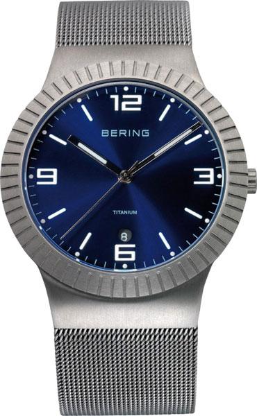 Мужские часы Bering ber-10938-078 bering titanium 11939 078
