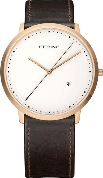 цена Мужские часы Bering ber-11139-564-ucenka онлайн в 2017 году