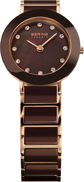 цена Женские часы Bering ber-11422-765 онлайн в 2017 году