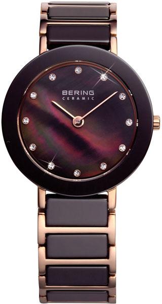 цена Женские часы Bering ber-11429-765 онлайн в 2017 году
