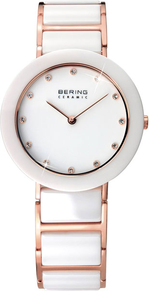 Женские часы Bering ber-11429-766 bering часы bering 11429 787 коллекция ceramic
