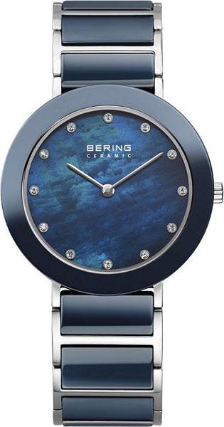 Женские часы Bering ber-11435-787 sjw женский стальной браслет со вставками cb030