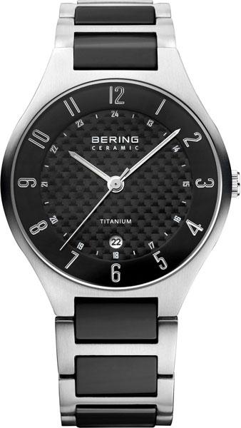 Мужские часы Bering ber-11739-702 bering titanium 11739 727