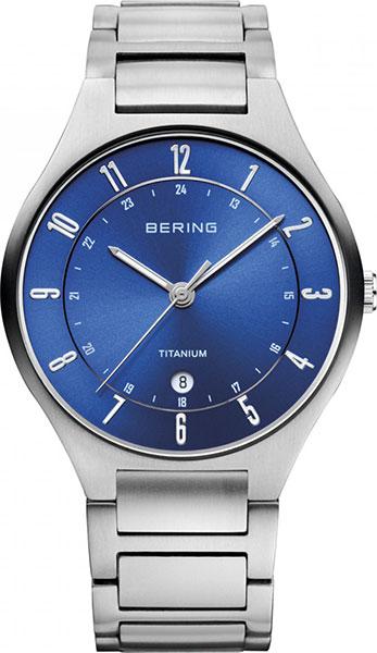 цена Мужские часы Bering ber-11739-707 онлайн в 2017 году