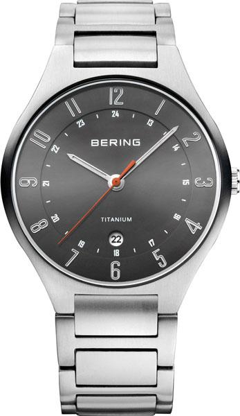 Мужские часы Bering ber-11739-772 bering titanium 11739 727