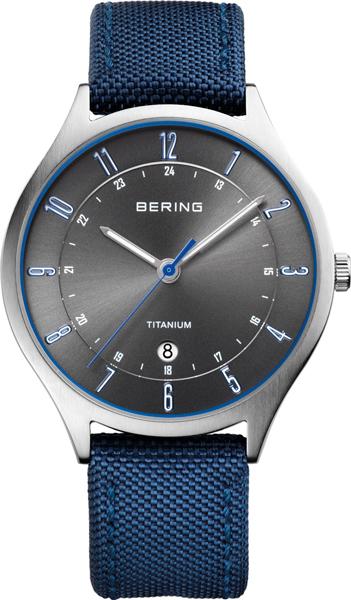 Мужские часы Bering ber-11739-873 bering titanium 11739 727
