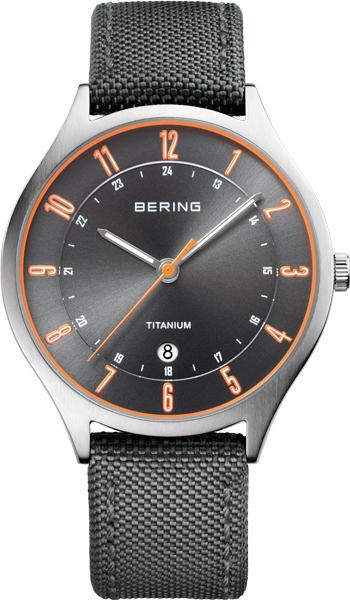 Мужские часы Bering ber-11739-879 bering titanium 11739 727