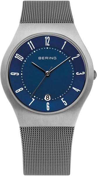 цена  Мужские часы Bering ber-11937-003  онлайн в 2017 году