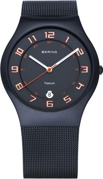 Мужские часы Bering ber-11937-393 bering часы bering 11937 227 коллекция titanium