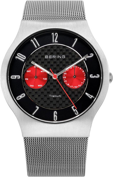 цена  Мужские часы Bering ber-11939-079  онлайн в 2017 году