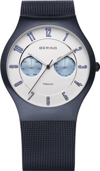 Мужские часы Bering ber-11939-394 bering titanium 11939 078