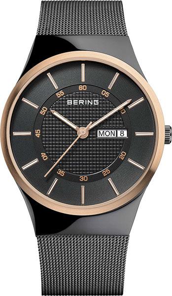 Мужские часы Bering ber-12939-166 футболка wearcraft premium slim fit printio dropouttapills