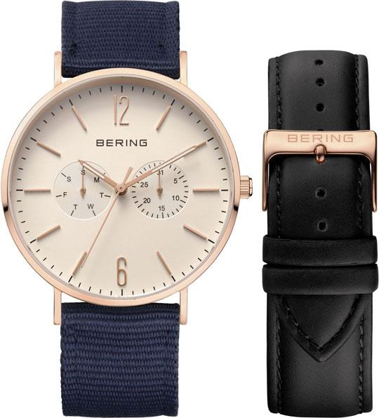 цена Мужские часы Bering ber-14240-664 онлайн в 2017 году