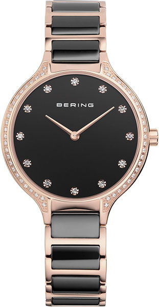 цена Женские часы Bering ber-30434-746 онлайн в 2017 году